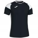 Camiseta Crew III Negro/Blanco