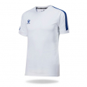 Camiseta Fútbol Global Blanco/Royal