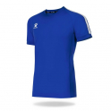Camiseta Fútbol Global Azul Royal/Blanco