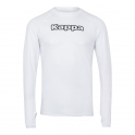 Camiseta Térmica Kappa Teramo M/L Blanca